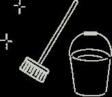 掃除道具のアイコン